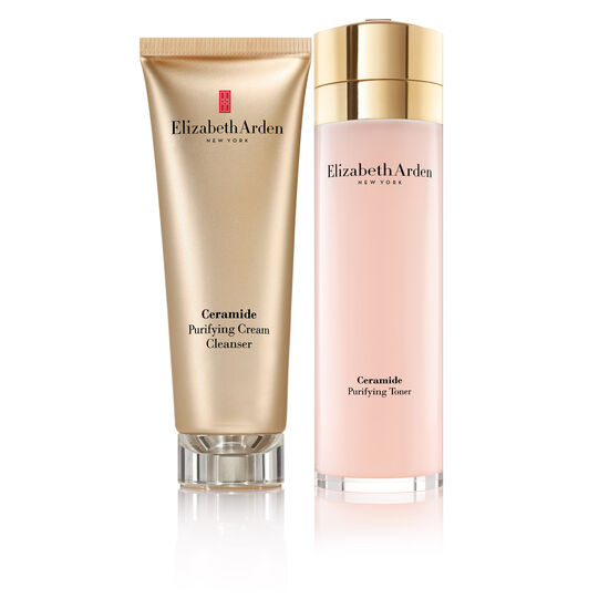 Ceramide Cleanser & Toner Set (worth £50), , large
