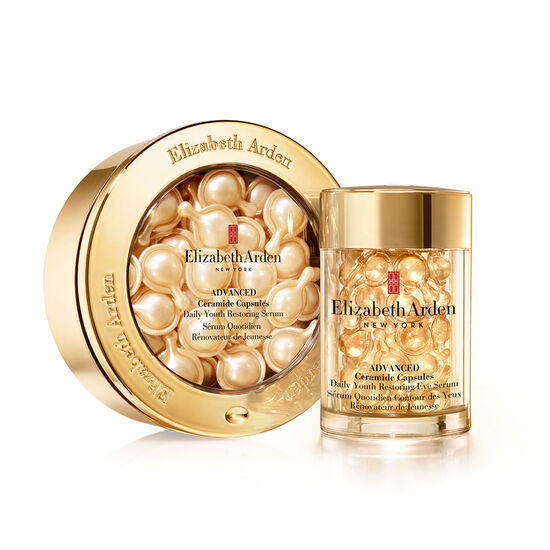 Advanced Ceramide Face & Eye Capsule Set (worth £118), , large