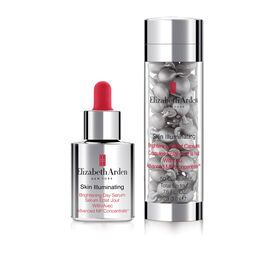 Skin Illuminating Day Serum & Night Capsules Set (worth £115), , large