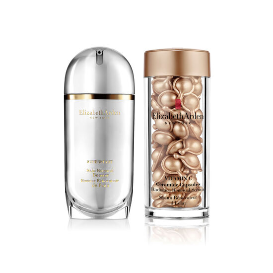 Vitamin C Ceramide Capsules & Superstart Skin Renewal Booster Duo (worth £132), , large