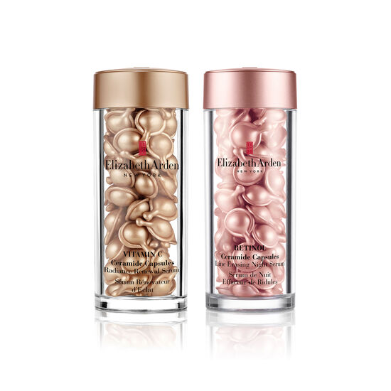 Vitamin C and Retinol Ceramide Capsules Serum Duo (worth £144), , large