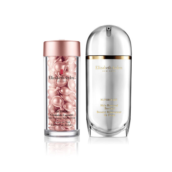 SUPERSTART Skin Renewal Booster & Retinol Ceramide Capsules Line Erasing Night Serum (worth £132) Online Only!, , large