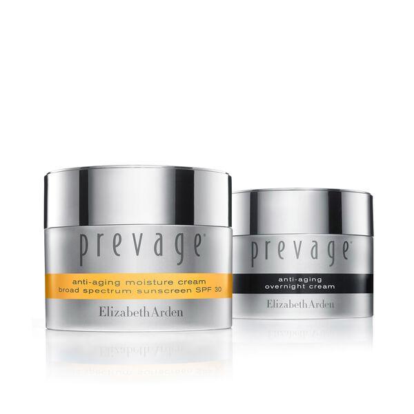 PREVAGE® Anti-Ageing Day + Night Moisture Cream Set (worth £250), , large
