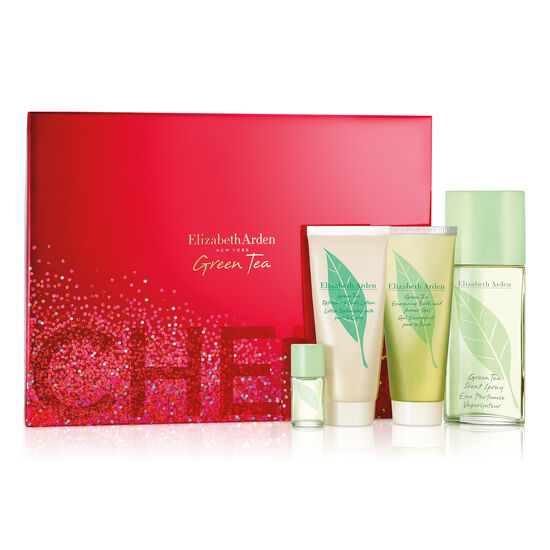 Green Tea 100ml EDP 4 Piece Set, , large
