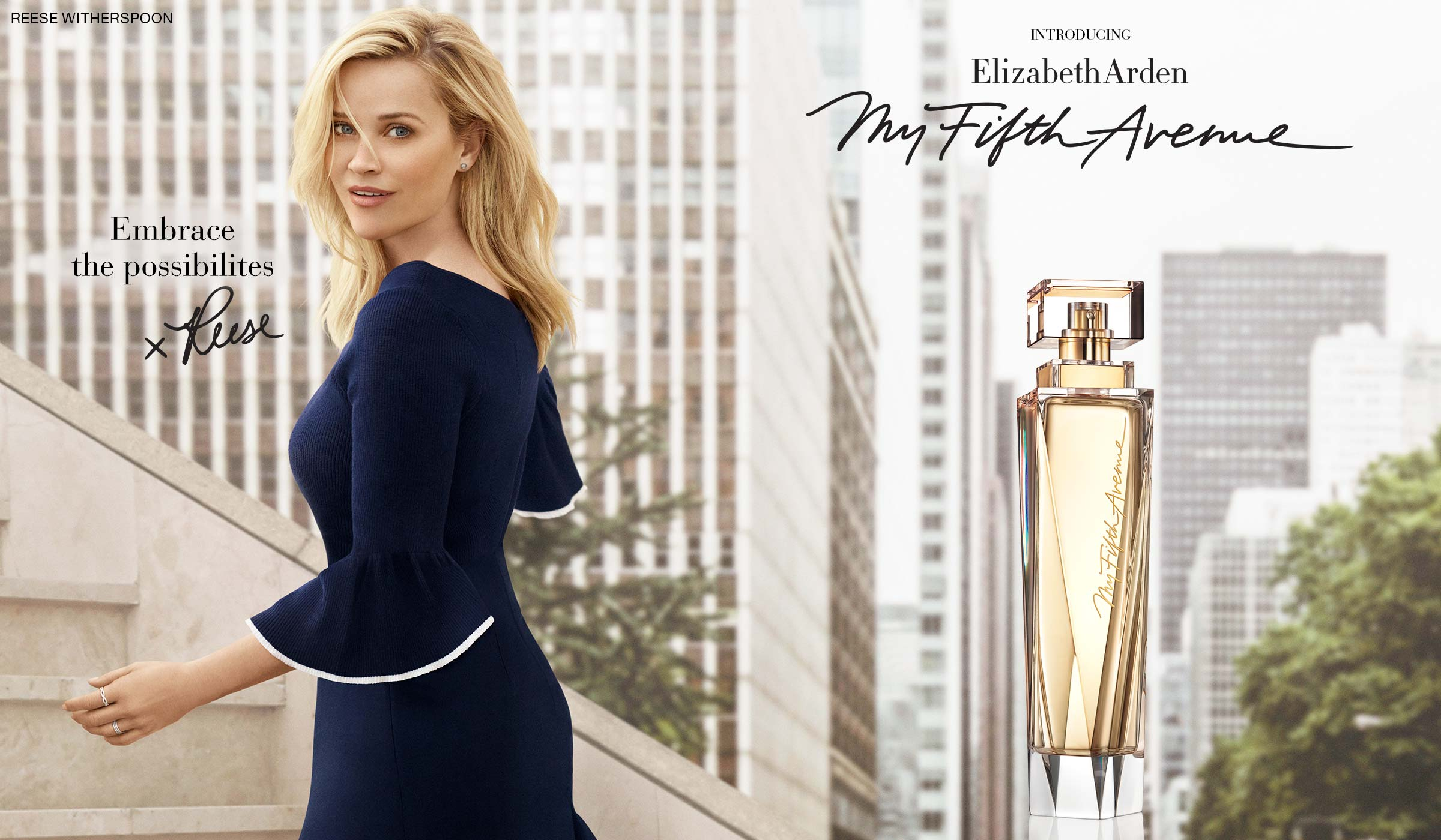 Reese Witherspoon My Fifth Avenue Fragrance