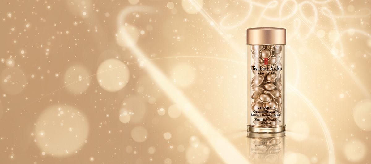 Holiday Gift Vitamin C Ceramide Capsules Radiance Renewal Serum