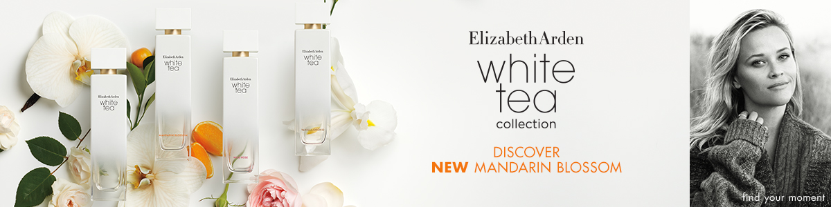 Elizabeth Arden White Tea, the new fragrance