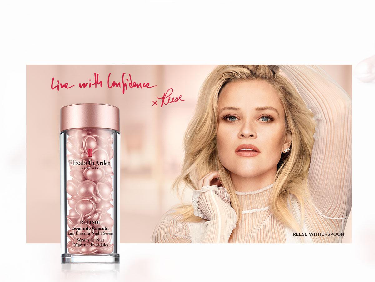 Reese Witherspoon Retinol Ceramide Capsules Line Erasing Night Serum