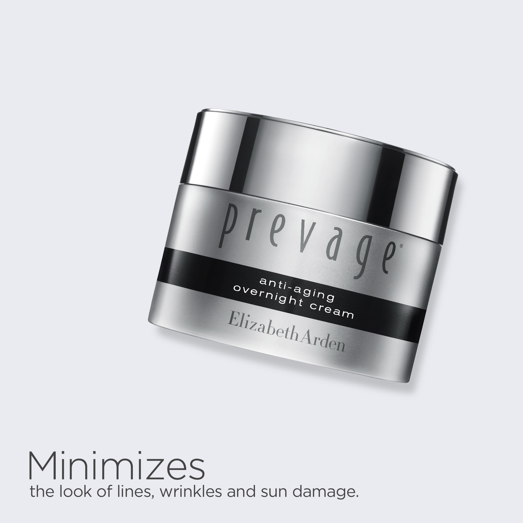 Prevage Night Cream minimizes the look of lines, wrinkles and sun damage.
