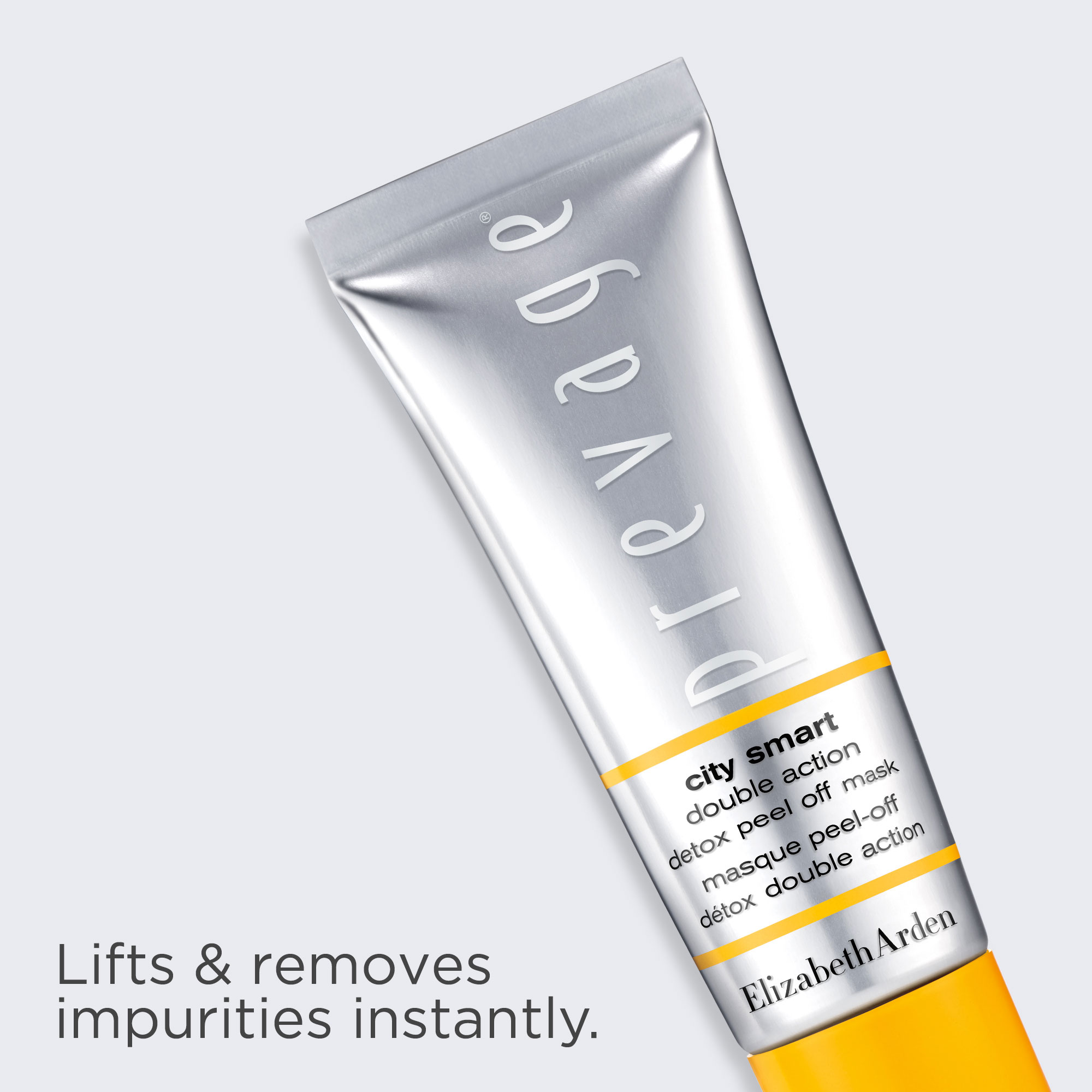 Prevage Detox Mask lifts and removes impurities instantly.