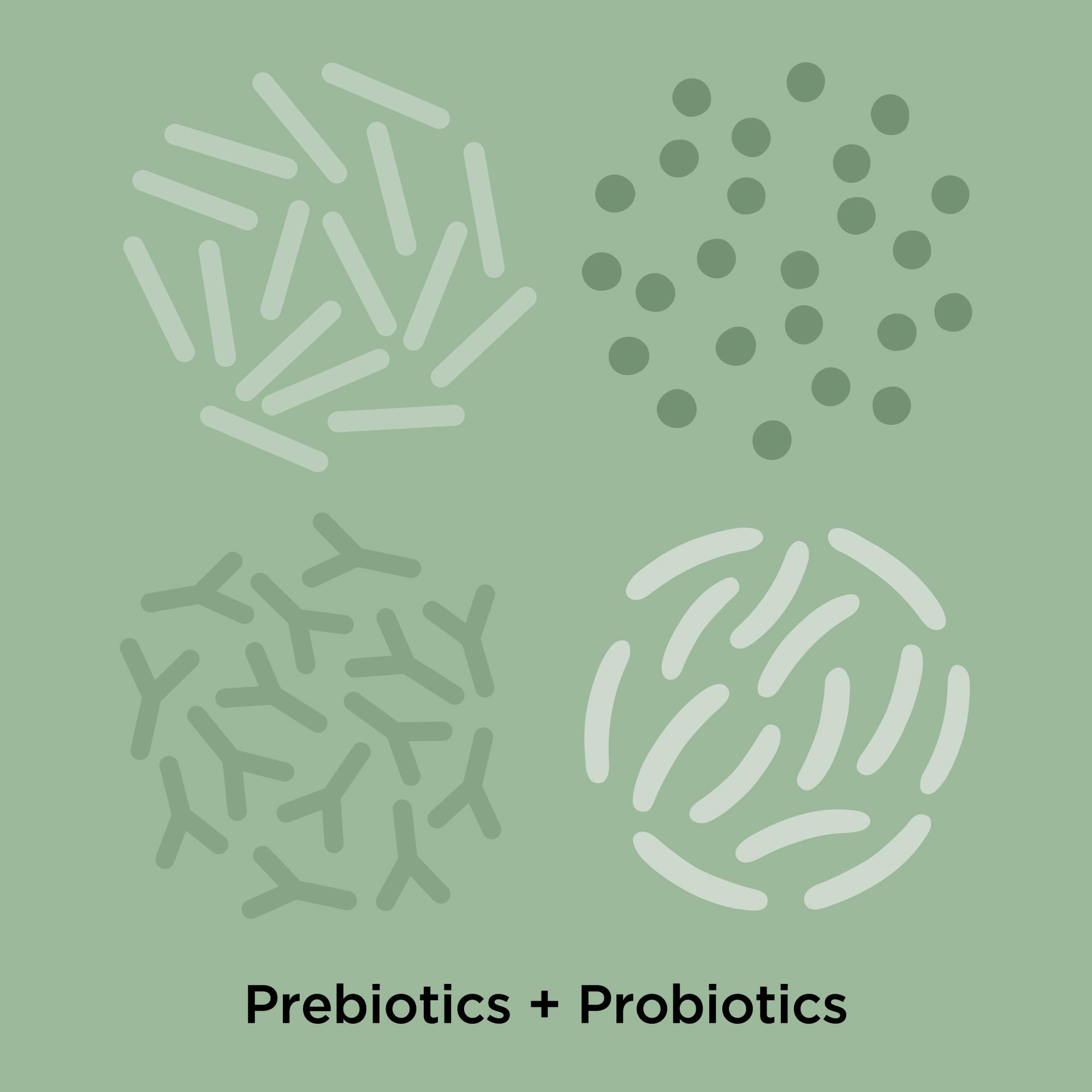 Superstart Cleanser contains prebiotics and probiotics.