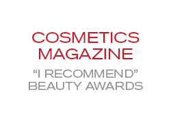 Cosmetics Magazine 'I Recommend' Beauty Awards