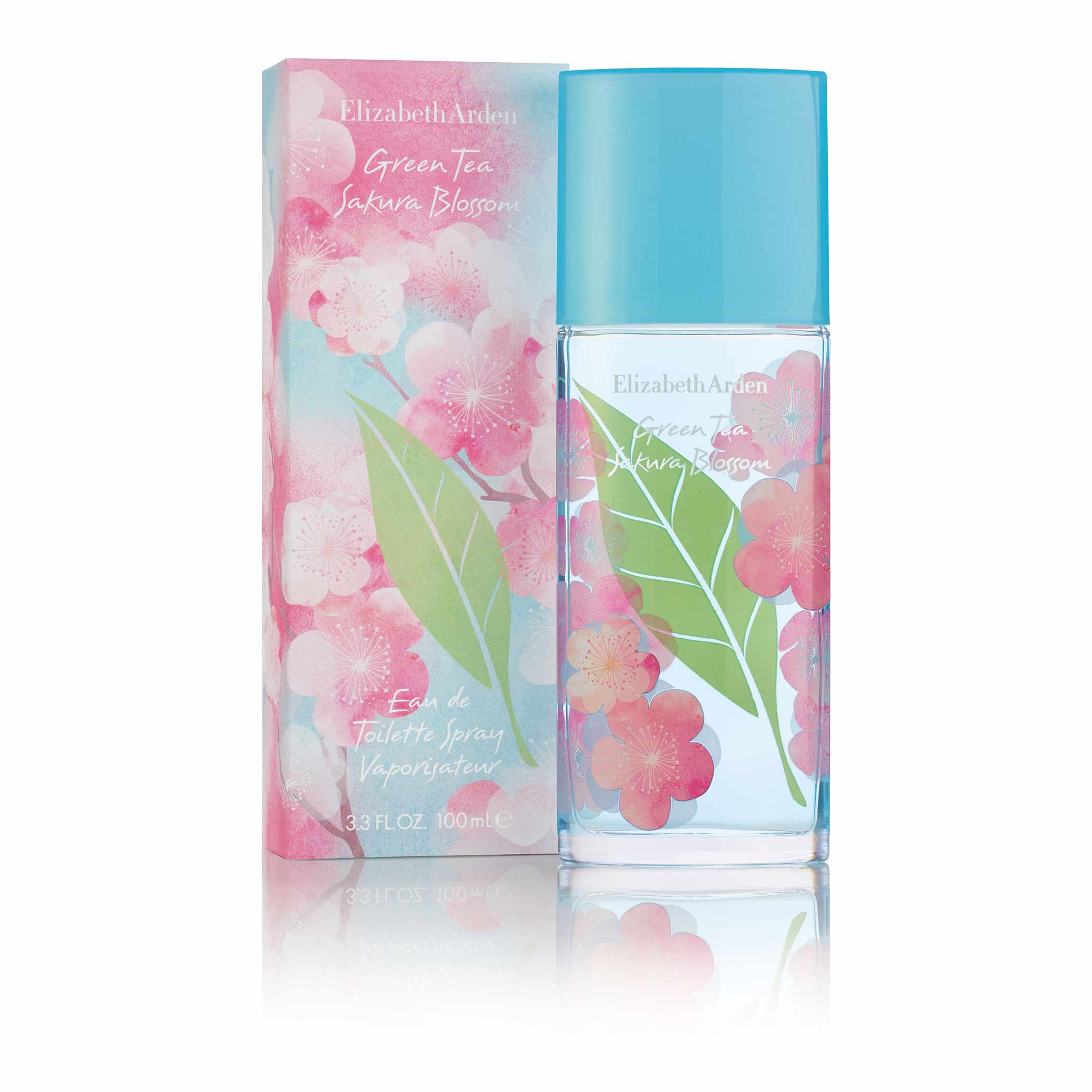 Green Tea Sakura Blossom Fragrance Spray, , large